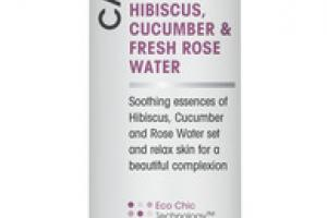 CALMING FACIAL PRIME & SETTING MIST HIBISCUS, CUCUMBER & FRESH ROSE WATER