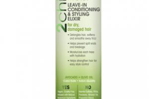 ULTRA MOIST LEAVE-IN CONDITIONING & STYLING ELIXIR AVOCADO + OLIVE OIL