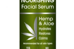 NOURISHING FACIAL SERUM HEMP & ALOE