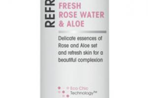 REFRESHING FACIAL PRIME & SETTING MIST FRESH ROSE WATER & ALOE