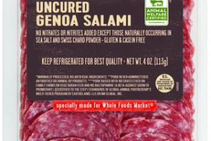UNCURED GENOA SALAMI