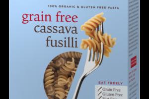 100% ORGANIC & GLUTEN FREE PASTA, CASSAVA FUSILLI
