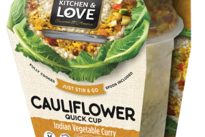 INDIAN VEGETABLE CURRY CAULIFLOWER QUICK CUP