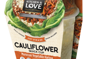 MOROCCAN VEGETABLE HARISSA CAULIFLOWER QUICK CUP