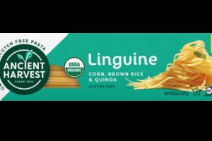 ORGANIC & GLUTEN FREE PASTA, CORN, BROWN RICE & QUINOA LINGUINE