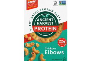 PLANT-BASED PROTEIN PASTA, CHICKPEA ELBOWS