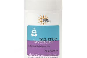 NATURAL DEODORANT, TEA TREE LAVENDER