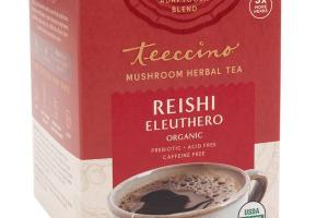 REISHI ELEUTHERO ORGANIC MUSHROOM HERBAL TEA BAGS