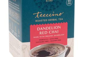 DANDELION RED CHAI ROASTED HERBAL TEA BAGS