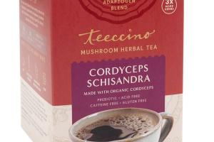 CORDYCEPS SCHISANDRA MUSHROOM HERBAL TEA BAGS
