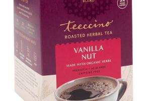 VANILLA NUT ROASTED HERBAL TEA BAGS