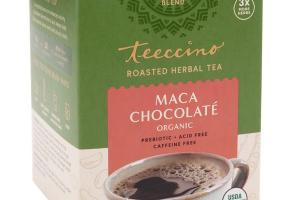 MACA CHOCOLATE ORGANIC ROASTED HERBAL TEA BAGS