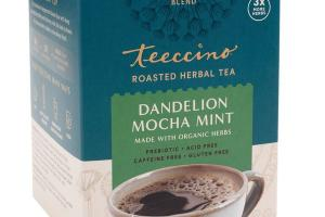 DANDELION MOCHA MINT ROASTED HERBAL TEA BAGS