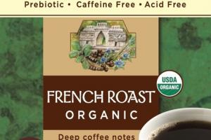 FRENCH DARK ROASTED ORGANIC HERBAL TEA BAGS