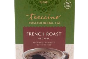 FRENCH ROAST ORGANIC ROASTED HERBAL TEA BAGS