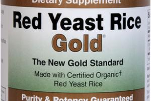 RED YEAST RICE 600 MG CHOLESTEROL SUPPORT DIETARY SUPPLEMENT VEGETARIAN CAPSULES
