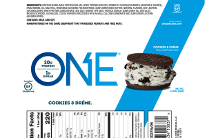 COOKIES & CREME FLAVORED PROTEIN BAR