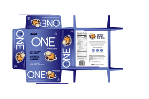 BLUEBERRY COBBLER FLAVORED PROTEIN BARS