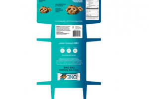 CHOCOLATE CHIP COOKIE DOUGH FLAVORED PROTEIN BARS