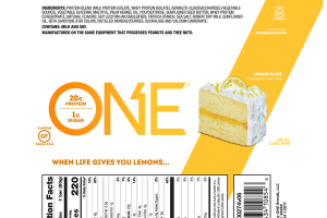 LEMON CAKE FLAVORED PROTEIN BAR