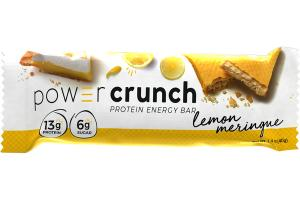 LEMON MERINGUE PROTEIN ENERGY BAR