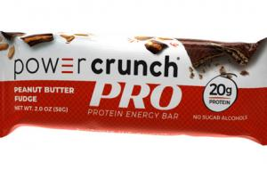 PEANUT BUTTER FUDGE PRO PROTEIN ENERGY BAR