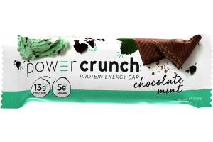 CHOCOLATE MINT PROTEIN IN A CREME FILLED WAFER ENERGY BAR