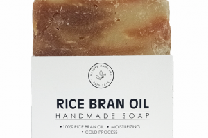 RICE BRAN OIL HAND MADE SOAP