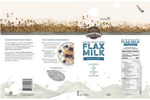 UNSWEETENED MILLED WHOLE SEED FLAX MILK