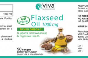 FLAXSEED OIL 1000 MG SUPPORTS CARDIOVASCULAR & DIGESTIVE HEALTH DIETARY SUPPLEMENT SOFTGELS