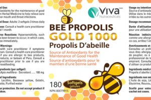 BEE PROPOLIS GOLD 1000 SOFTGELS