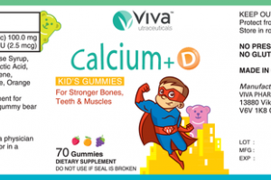 CALCIUM+D FOR STRONGER BONES, TEETH & MUSCLES DIETARY SUPPLEMENT KID'S GUMMIES