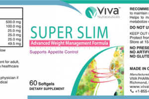 ADVANCED WEIGHT MANAGEMENT FORMULA SUPER SLIM DIETARY SUPPLEMENT SOFTGELS