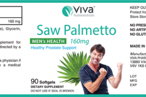 SAW PALMETTO MEN'S HEALTH 160MG HEALTHY PROSTATE SUPPORT DIETARY SUPPLEMENT SOFTGELS