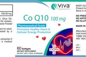 CO Q10 100 MG PROMOTES HEALTHY HEART & CELLULAR ENERGY PRODUCTION DIETARY SUPPLEMENT SOFTGELS