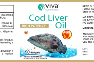 COD LIVER OIL HIGH POTENCY DIETARY SUPPLEMENT SOFTGELS