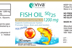FISH OIL 50/25 1200 MG HIGH CONCENTRATION ESSENTIAL FATTY ACID DIETARY SUPPLEMENT SOFTGELS