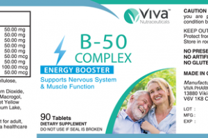 B-50 COMPLEX ENERGY BOOSTER DIETARY SUPPLEMENT TABLETS