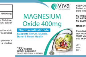 PHARMACEUTICAL GRADE MAGNESIUM OXIDE 400 MG SUPPORTS NERVE, MUSCLE, BONE & HEART HEALTH DIETARY SUPPLEMENT TABLETS