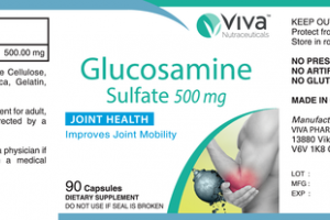 GLUCOSAMINE SULFATE 500 MG JOINT HEALTH DIETARY SUPPLEMENT CAPSULES