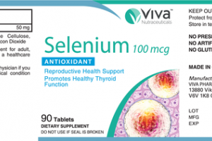 SELENIUM 100 MCG ANTIOXIDANT DIETARY SUPPLEMENT TABLETS