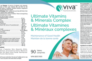 ULTIMATE VITAMINS & MINERALS COMPLEX TABLETS