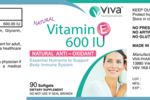 NATURAL VITAMIN E 600 IU NATURAL ANTI-OXIDANT ESSENTIAL NUTRIENTS TO SUPPORT BODY IMMUNE SYSTEM DIETARY SUPPLEMENT SOFTGELS