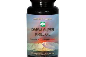 DAIWA SUPER KRILL OIL DIETARY SUPPLEMENT SOFTGELS