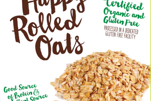 ORGANIC HAPPY ROLLED OATS