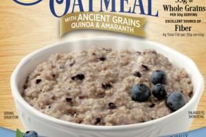 BLUEBERRY SCONE INSTANT OATMEAL WITH ANCIENT GRAINS QUINOA & AMARANTH