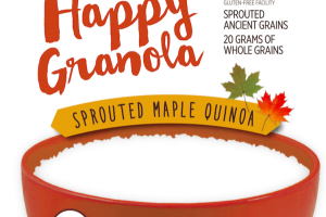 SPROUTED MAPLE QUINOA HAPPY* GRANOLA
