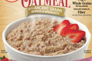 STRAWBERRY SHORTCAKE WITH ANCIENT GRAINS QUINOA & AMARANTH INSTANT OATMEAL