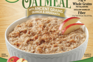 APPLE PIE INSTANT OATMEAL WITH ANCIENT GRAINS QUINOA & AMARANTH