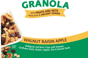 GLUTEN-FREE WALNUT RAISIN APPLE GRANOLA